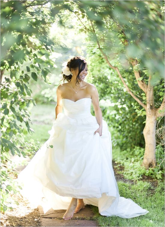 barefoot bride by Brumley & Wells
