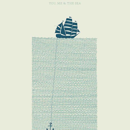 You, me & the sea.