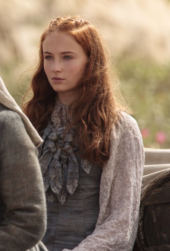 Sansa arrivée Port Réal