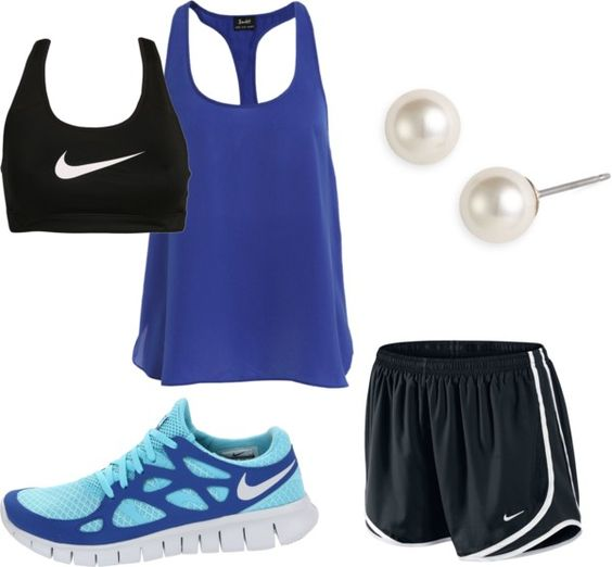 """""""workout"""" by evanst on Polyvore"""