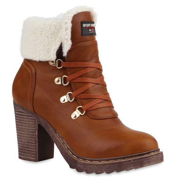Winterliche Schnürstiefeletten bei stiefelparadies.de. #boots #winter #bootees #christmas #wishlist