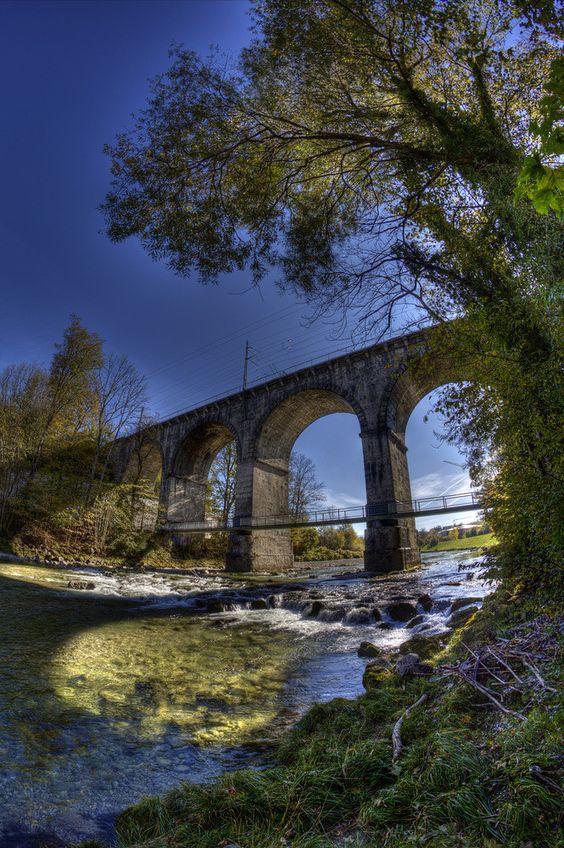 #Traunstein #Viadukt #Chiemgau