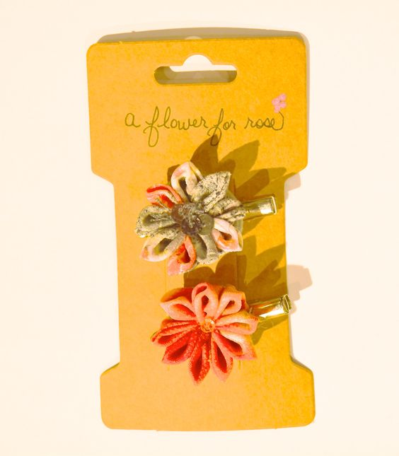 A Flower for Rose Flower Clips