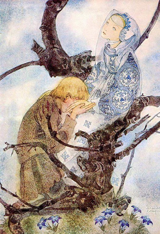 chasingthegreenfaerie (via (45) Sulamith Wulfing | Art and Illustration | Pinterest | Artists, Night and Spring)