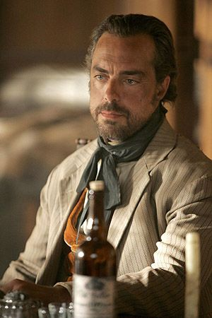"""TV inspiration (the men of HBO's Deadwood): Silas Adams (played by Titus Welliver). ~*~ """"When he ain't lying Al's the most honorable man you'll meet."""" - Silas Adams (talking about Al Swearengen)"""
