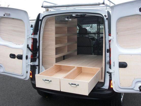Amenagement Pour Renault Kangoo Amenagement De Vehicules Utilitaires Vans V In 2020 Ford Transit Custom Camper Converted Vans Ford Transit Connect Camper