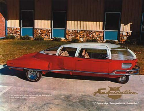 Retro Future Car - The Fascination 2