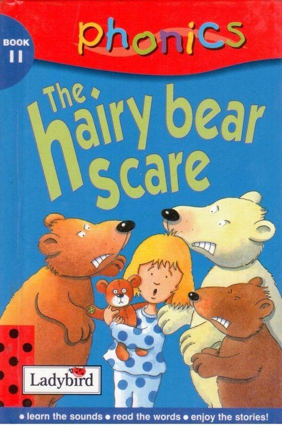 Ladybird - Phonics - Book 11 - The Hairy Bear Scare - Hardcover -  S/Hand