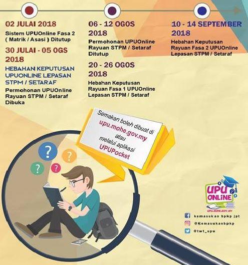 Semakan Keputusan Upu Online 2018 2019 Ua Ipta Activities Online