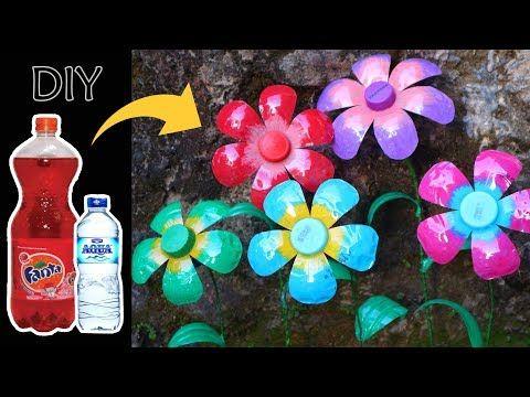 Gambar Vas Bunga Dari Botol Plastik Bekas Berikut Beberapa