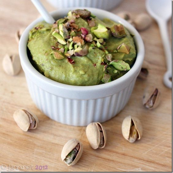 Dairy-free Pistachio Pudding: Gluten-free, No-cook, Vegan from Jenn's Menu and Lifestyle Blog