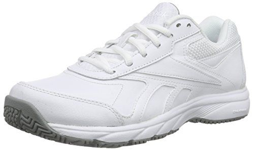 Reebok Work n Cushion 2.0, Damen Laufschuhe, Weiß (White/Flat Grey)