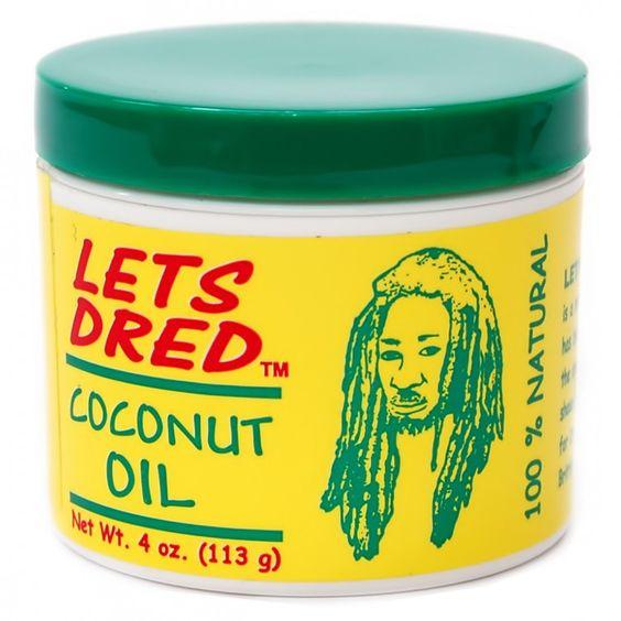 Lets Dred Coconut Oil 4oz