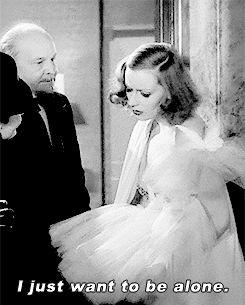 """Greta Garbo in Grand Hotel, 1932 | Edmund Goulding. """
