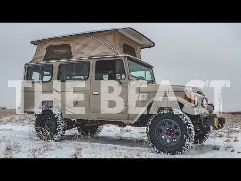 350 Horsepower Land Cruiser Troopy Hj45 The Beast Youtube Land Cruiser Cruisers Expedition Trailer
