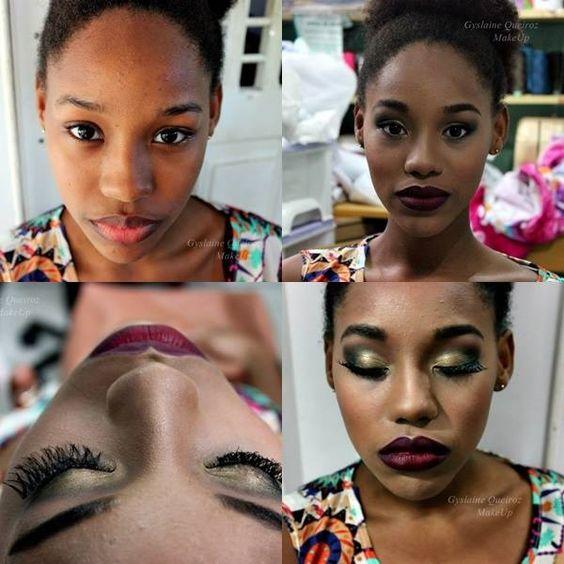 Maquiagem Pele Negra 😍