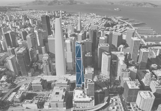 Proposed 181 Fremont Street San Francisco. Not sure if I actually like this design yet - what do you think?