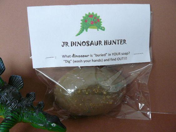 Soap - KIDS  - Dinosaur Hidden. $5.50, via Etsy.