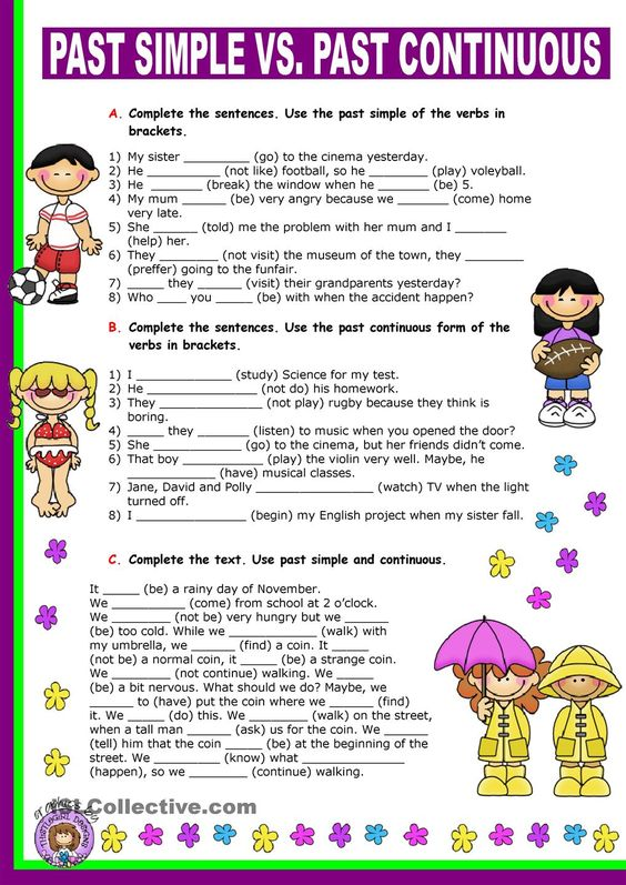 past simple time expressions exercises pdf