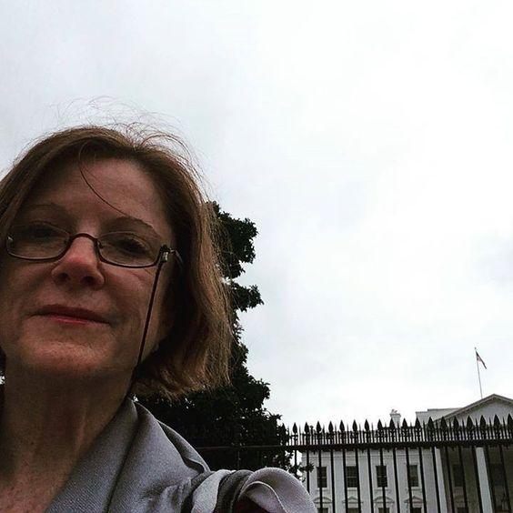 O dia meio cinza na White House! O que será que houve!!  by mbiavas #WhiteHouse #USA