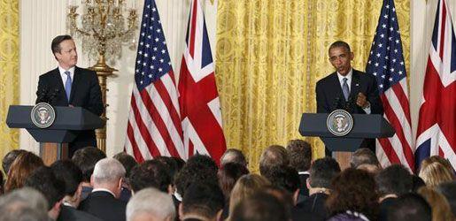 """اخبار عاجلة ومنوعة من العراق والعالم اوباما وكاميرون يبحثان الخطوات التي يمكن اتخاذها لتدمير """"داعش"""""""