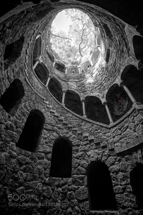 Regaleira by RGBphotography  old palace portugal quinta da regaleira sintra RGBphotography