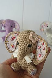 Ravelry: Tiny luck elephant pattern by Mari-Liis Lille