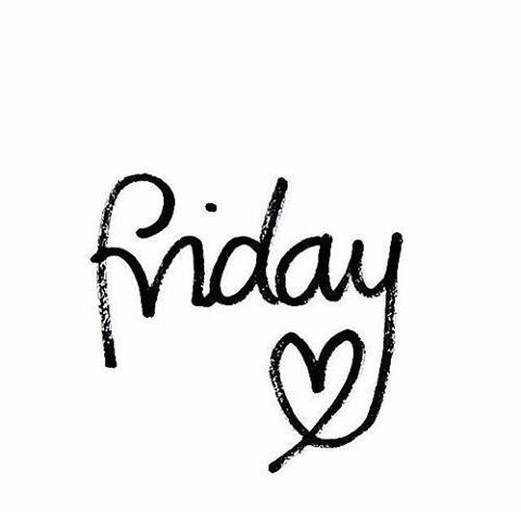 Sååååååå herlig med fredag! En etterlengtet helg kan starte! GOD HELG!