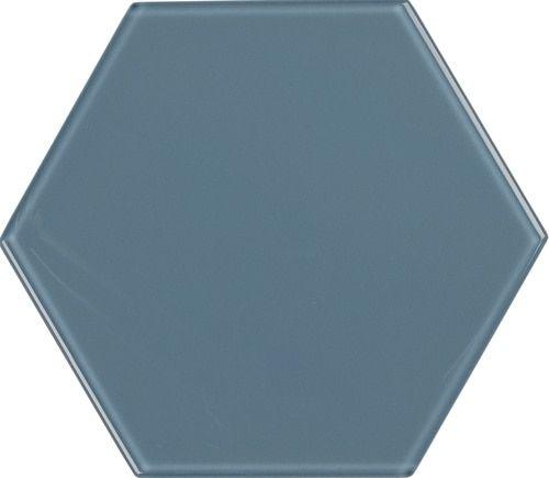 8 Glass Hexagon Downpour Hexagon Tiles Glass Tiles
