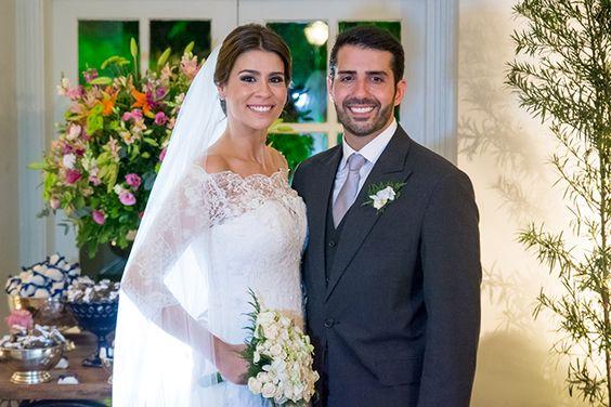 O lindo e emocionante casamento de Anna Carolina ♥ Vinicius!