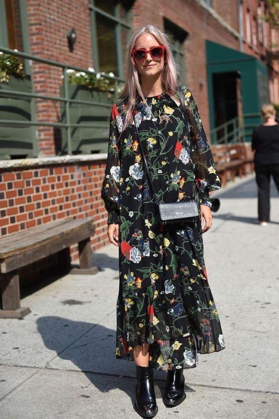 18 Looks Que Prueban Que Las Flores También Son Para El Otoño | Cut & Paste – Blog de Moda