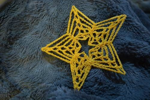 Crocheted Star by amymarie78