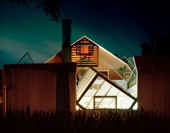 Gehry Residence, Frank Gehry, Santa Monica, California, 1978 — Alex Fradkin
