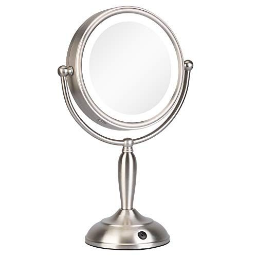 Kedsum 8 Inch 1x 10x Led Lighted Makeup Mirror With 3 Lighting