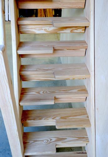Фотография лестницы гусинный шаг 1