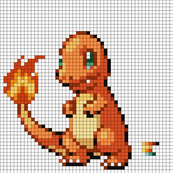 Minecraft Pixel Art Templates Hard Pokemon