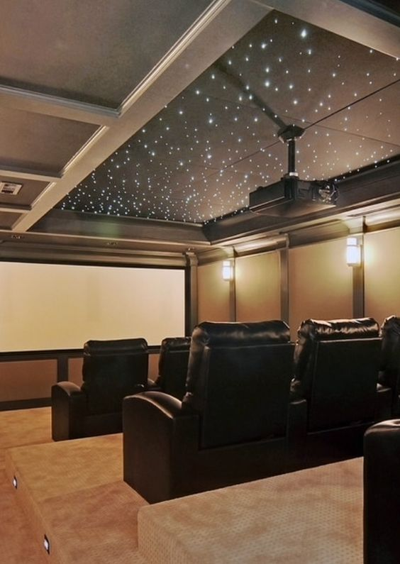 Cinema, Ceilings And Under The Stars On Pinterest