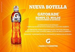 Gatorade rompe el molde y transforma su botella - RunMX