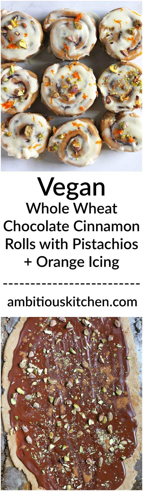 Cinnamon rolls, Vegans and Cinnamon on Pinterest