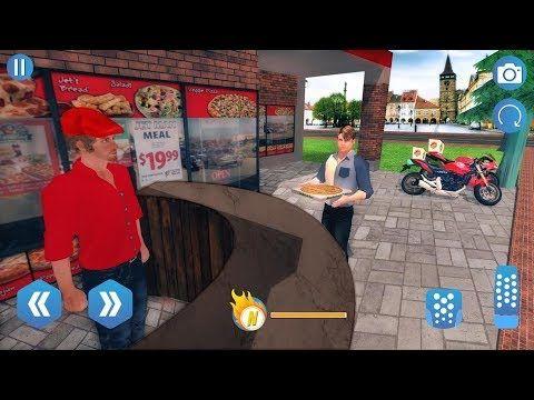 Big Pizza Delivery Boy Simulator Best Bike Racing Game Hd