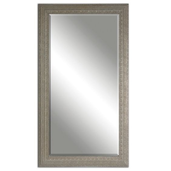 Uttermost Malika Antique Silver Mirror - 38.5W x 68.5H in. - Mirrors at Hayneedle