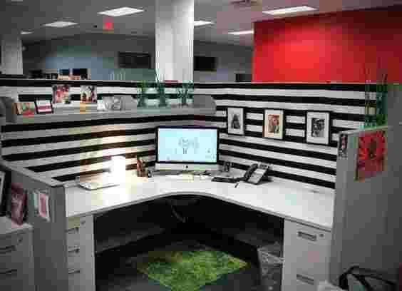 Brighten Cubicle Decor Ideas Work Office Decor Birthday Work Office Decor Black Work Office Decor Brow In 2020 Cubicle Decor Office Cubicle Decor Office Cubicle