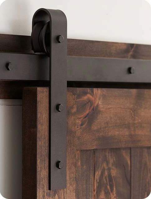 Inexpensive Sliding Barn Door Hardware With Images Diy Barn