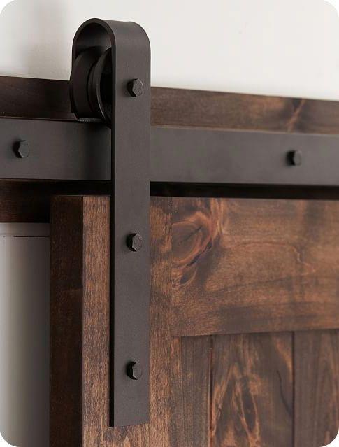 Refined And Raw Details Oil Rubbed Bronze Barn Door Hardware Diy Barn Door Hardware Interior Barn Door Hardware Diy Sliding Barn Door