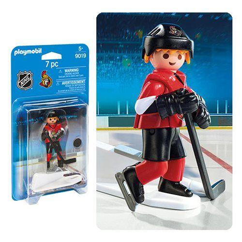 Playmobil 9019 Nhl Ottawa Senators Player Action Figure Playmobil Sports Hockey Action Figures Nhl Washington Capitals Nhl News New Jersey Devils
