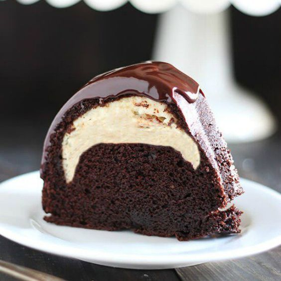 Dark Chocolate Fudge Cake Mix Pudding Recipe Loaf