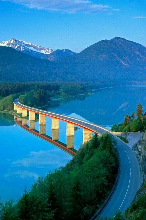 Lake Silvenstein, Germany