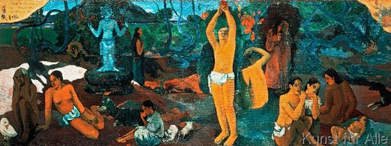 Paul Gauguin - Where are we? Who are we? Where are we going?