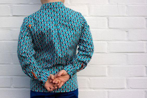 Theo, shirt pattern by Zonen 09  www.zonen09.com