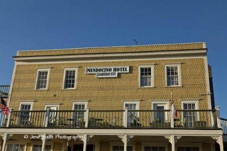 Historic Mendocino Hotel built in 1878 -- Mendocino, CA